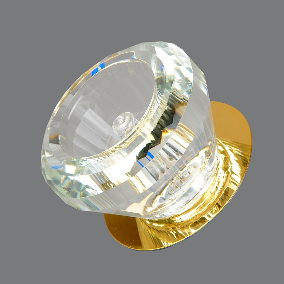 Светильник точечный 666-cl-gd Elvan светильник точечный675 cl gd elvan