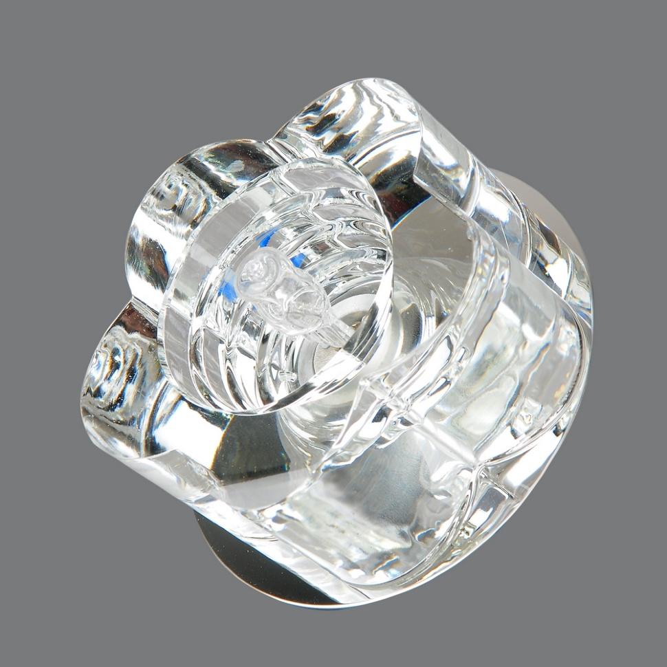 Светильник точечный 673-cl-cr Elvan светильник точечный675 cl gd elvan