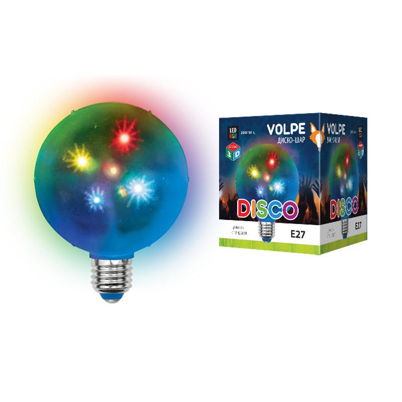 Светильник Volpe uli-q310 1.5w/rgb/е27 диско