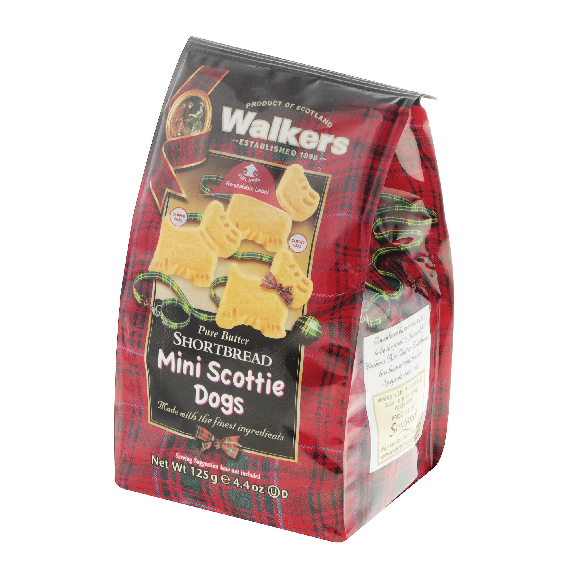 Печенье песочное Walkers Шотландский терьер 125 г
