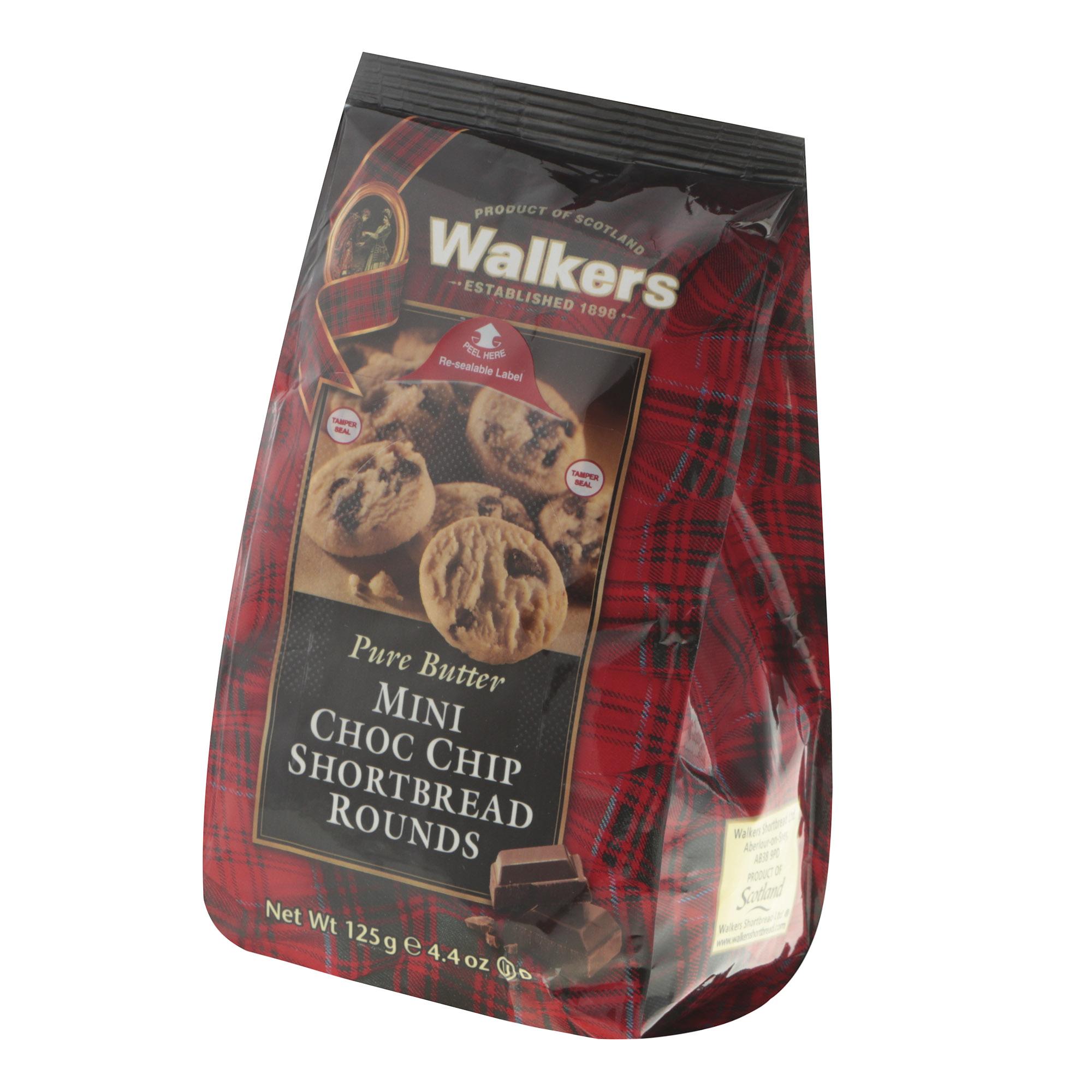 Фото - Печенье песочное Walkers с шоколадной крошкой 125 г печенье quickbury с шоколадной крошкой 150 г
