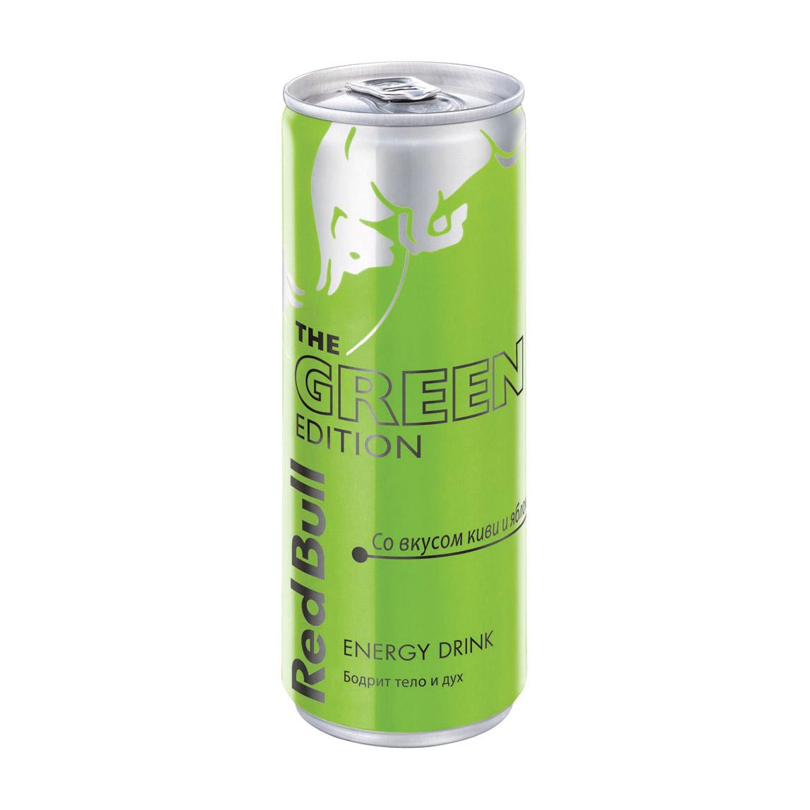 Напиток энергетический Red Bull Green Edition 250 мл