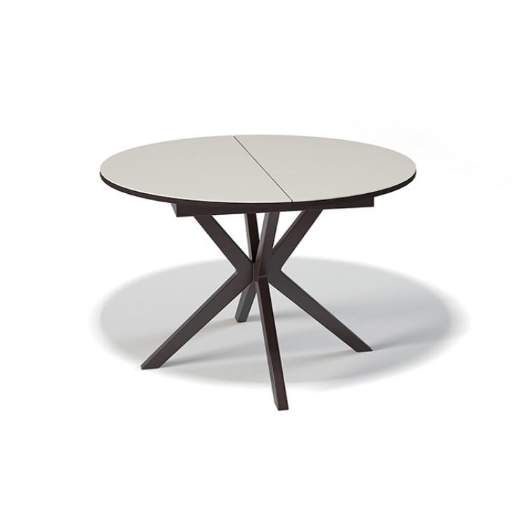 Купить Стол Kenner b1100 венге/стекло крем, стол, Россия, венге/хром