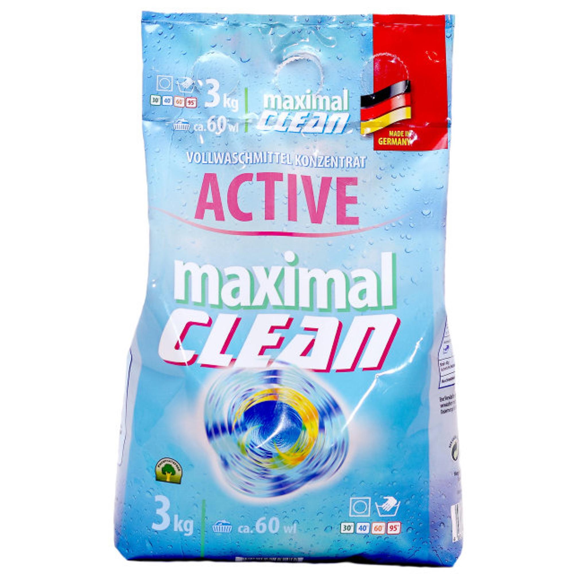 Стиральный порошок Maximal Clean Active 3 кг
