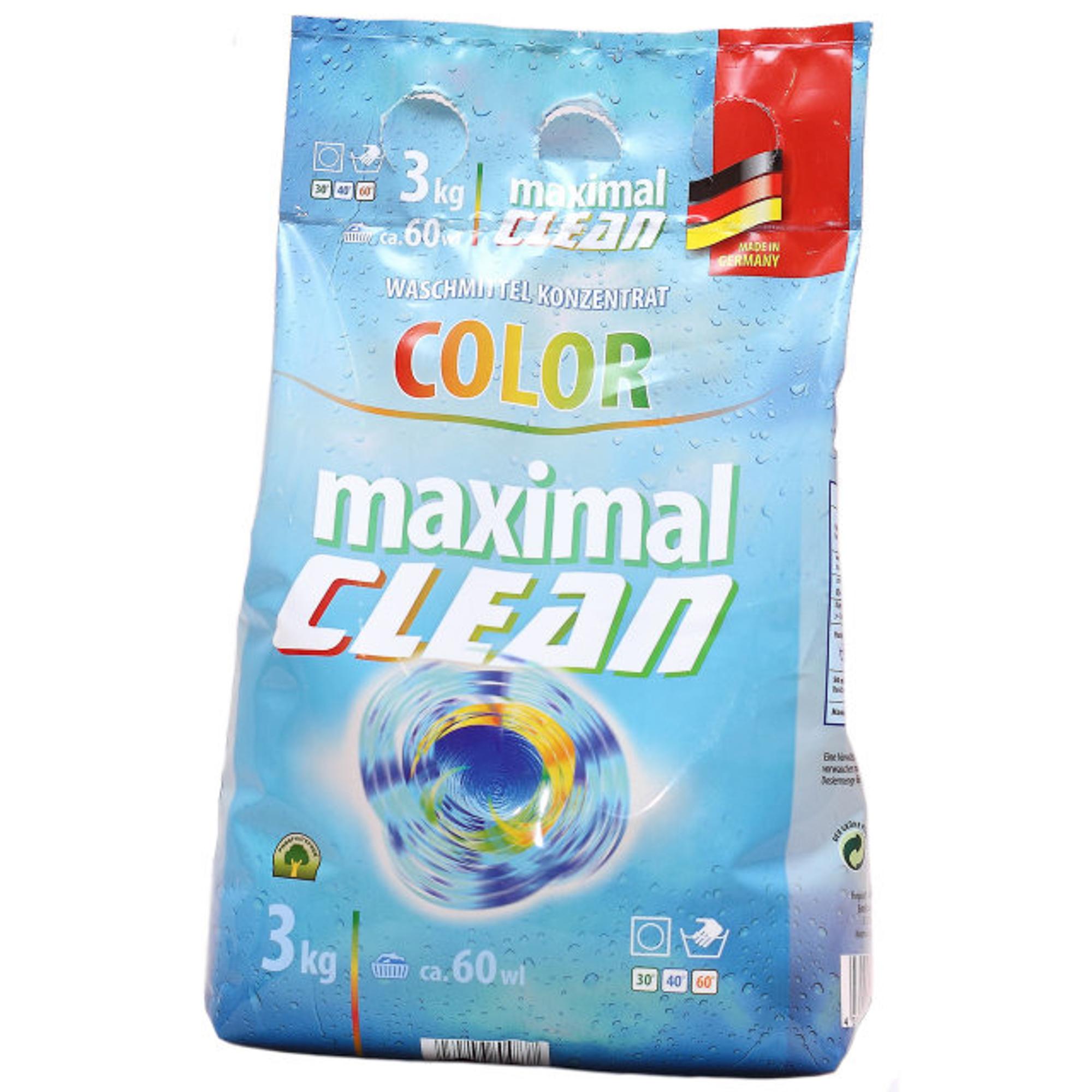 Стиральный порошок Maximal Clean Color 3 кг