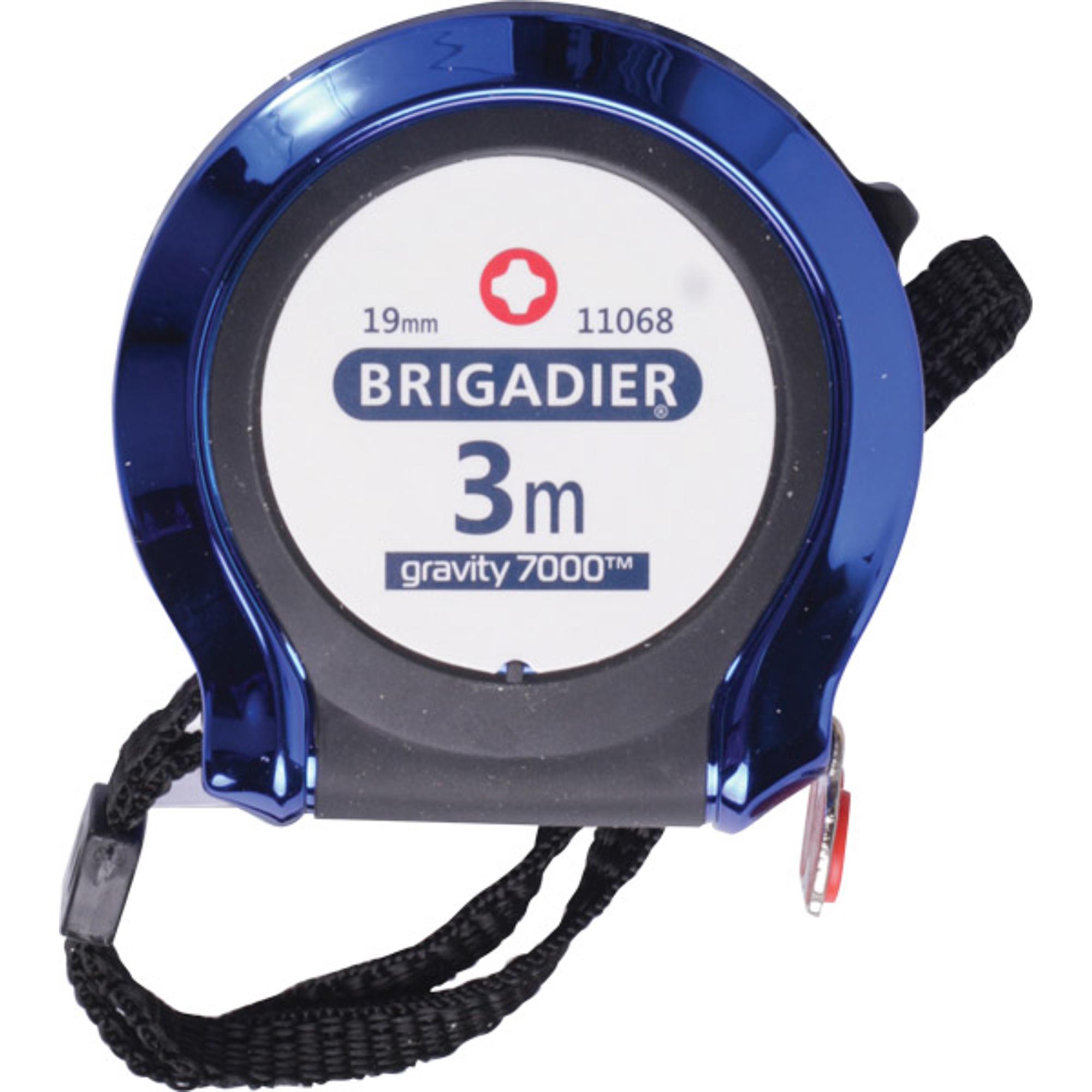 Рулетка измерительная Brigadier 3 м 19 мм измерительная рулетка ada instruments rubtape 3 16 мм x 3 м