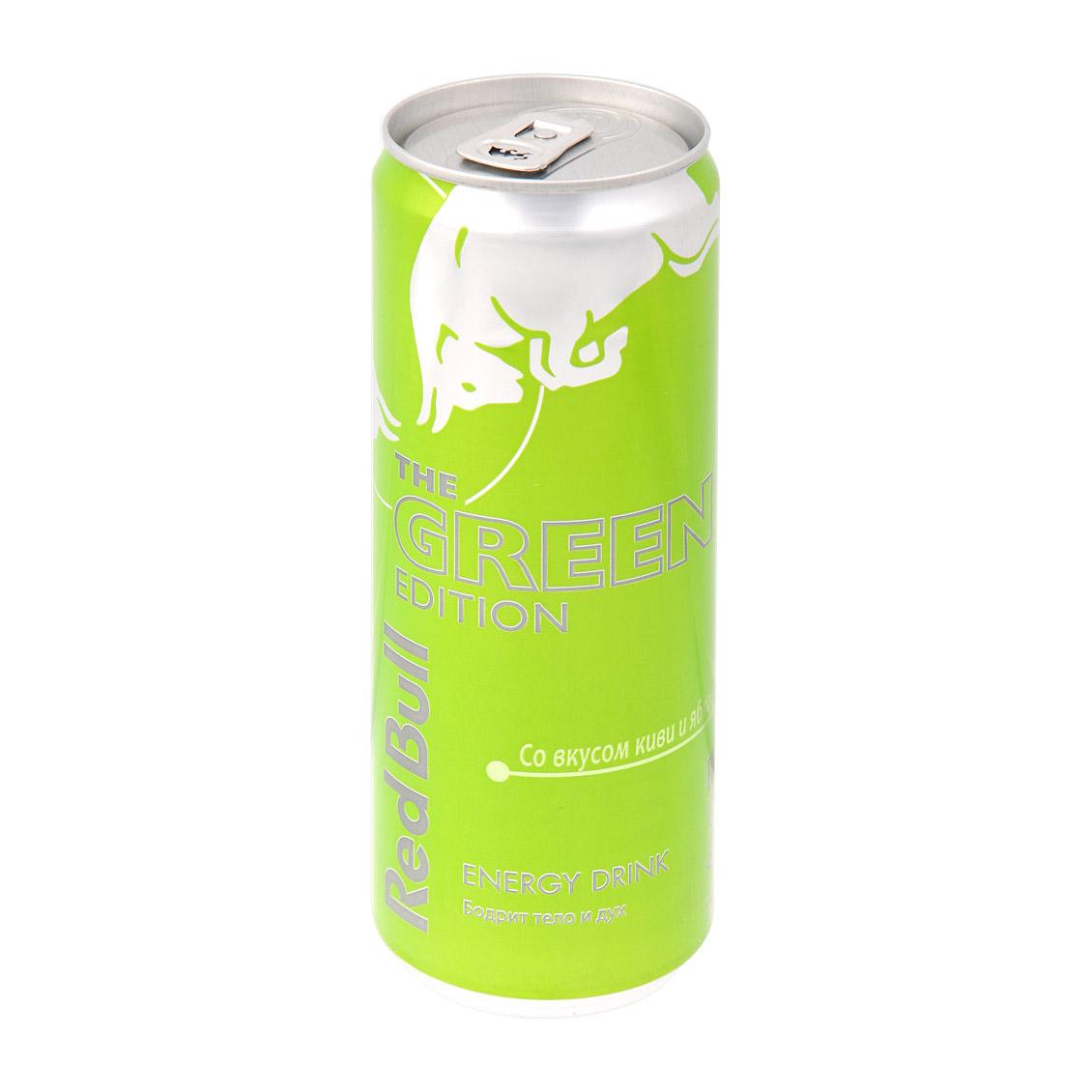 Напиток энергетический Red Bull Green Edition 355 мл напиток энергетический monster green 500 мл