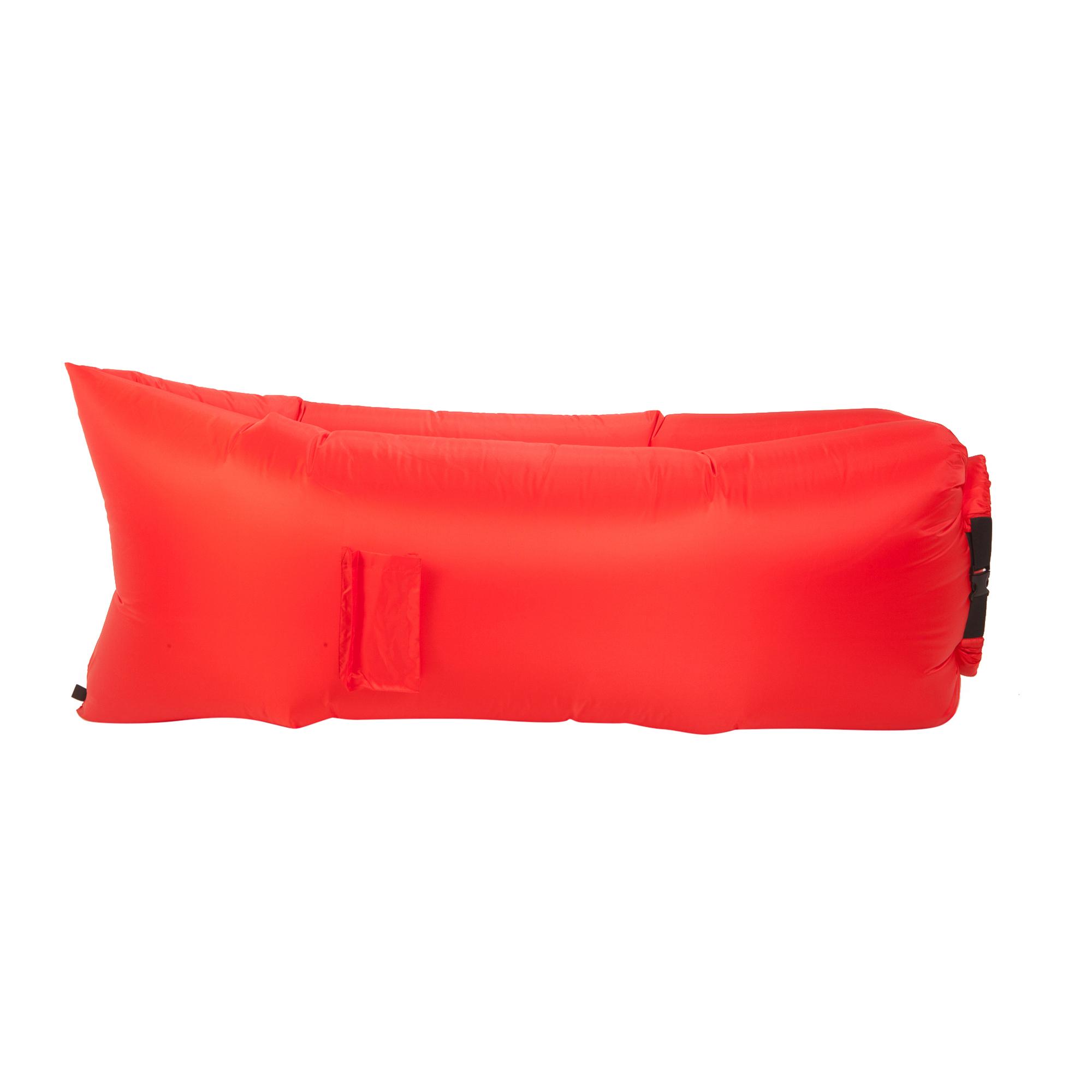 Надувной лежак Aerodivan красный (НЛ109)