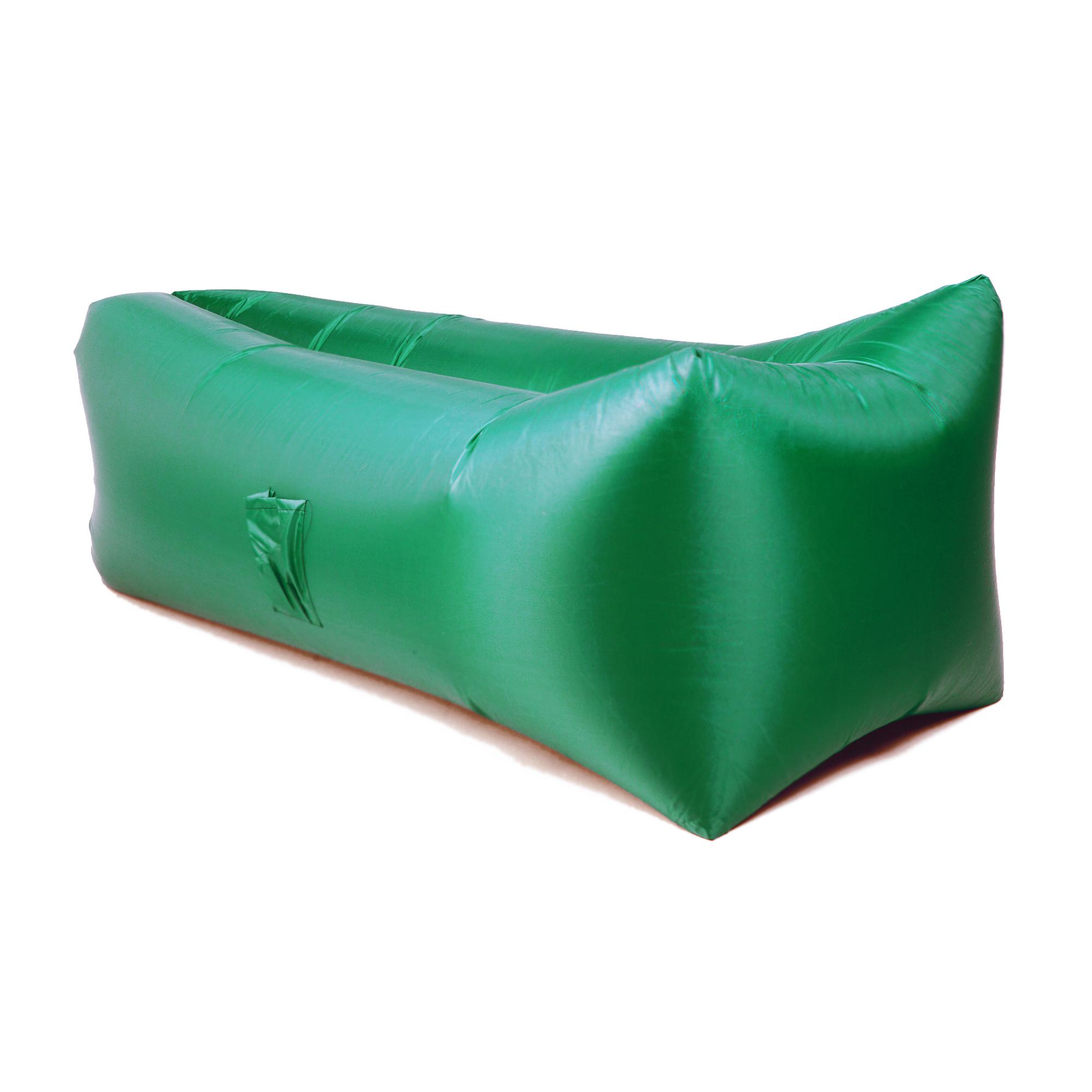 Надувной лежак Aerodivan зеленый (НЛ102)