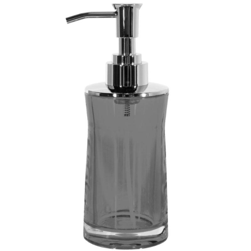 Фото - Дозатор для жидкого мыла Spirella Sydney серый 7х18,5 см дозатор для жидкого мыла spirella sydney серый 7х18 5 см