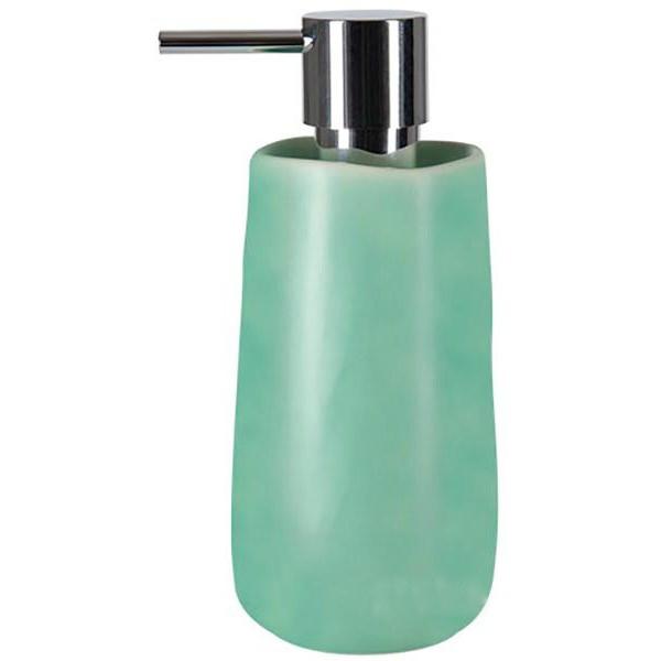 Купить Дозатор для жидкого мыла Spirella Sina, дозатор, Швейцария, зеленый, керамика