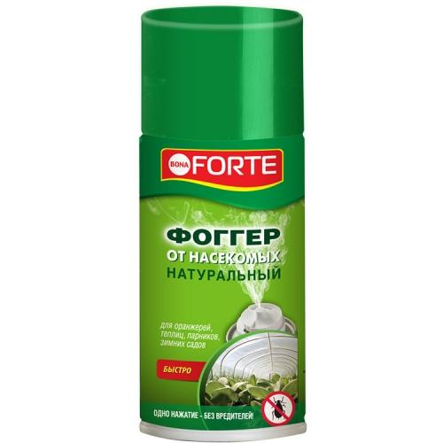 тотальная защита от вредителей искра м от гусениц ампула 5 мл 1148472 Натуральный фоггер-аэрозоль Bona Forte от насекомых, 150 мл