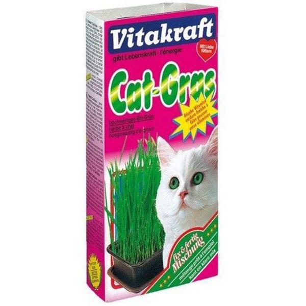 Лакомство VITAKRAFT Смесь для проращивания свежей травы 120г.