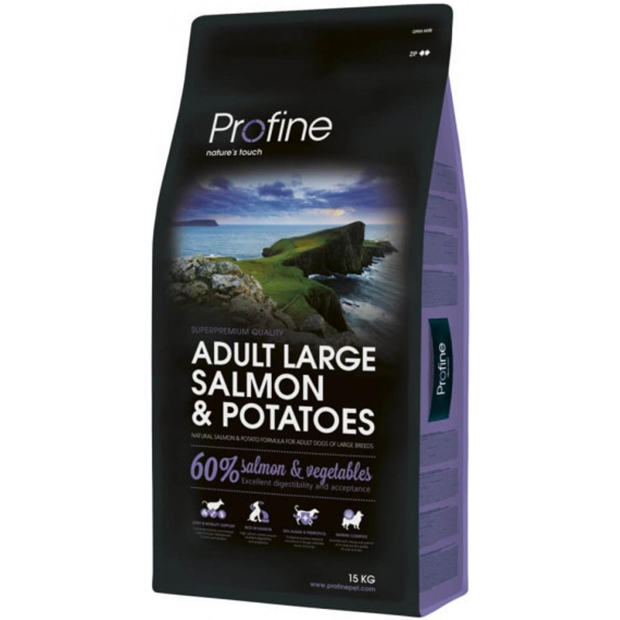 Корм для собак Profine Adult Large для крупных пород, лосось, картофель,15 кг фото