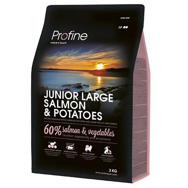 Корм для щенков PROFINE для крупных пород, лосось 3 кг фото
