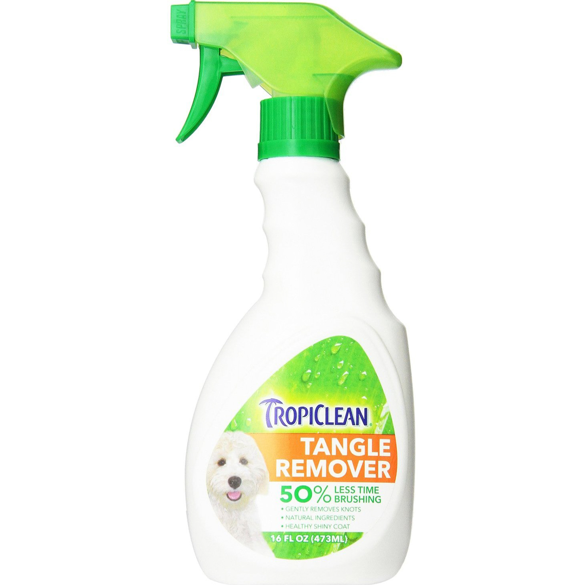 Спрей для кошек и собак TropiClean Tangle Remover От колтунов 473 мл.
