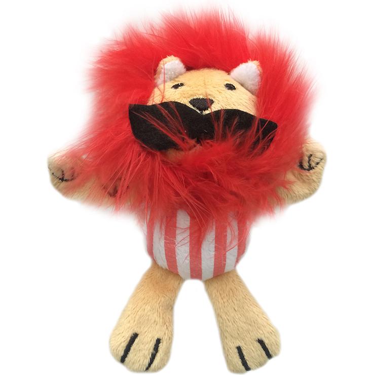 Игрушка для кошек CHOMPER Цирк Лев с кошачьей мятой.