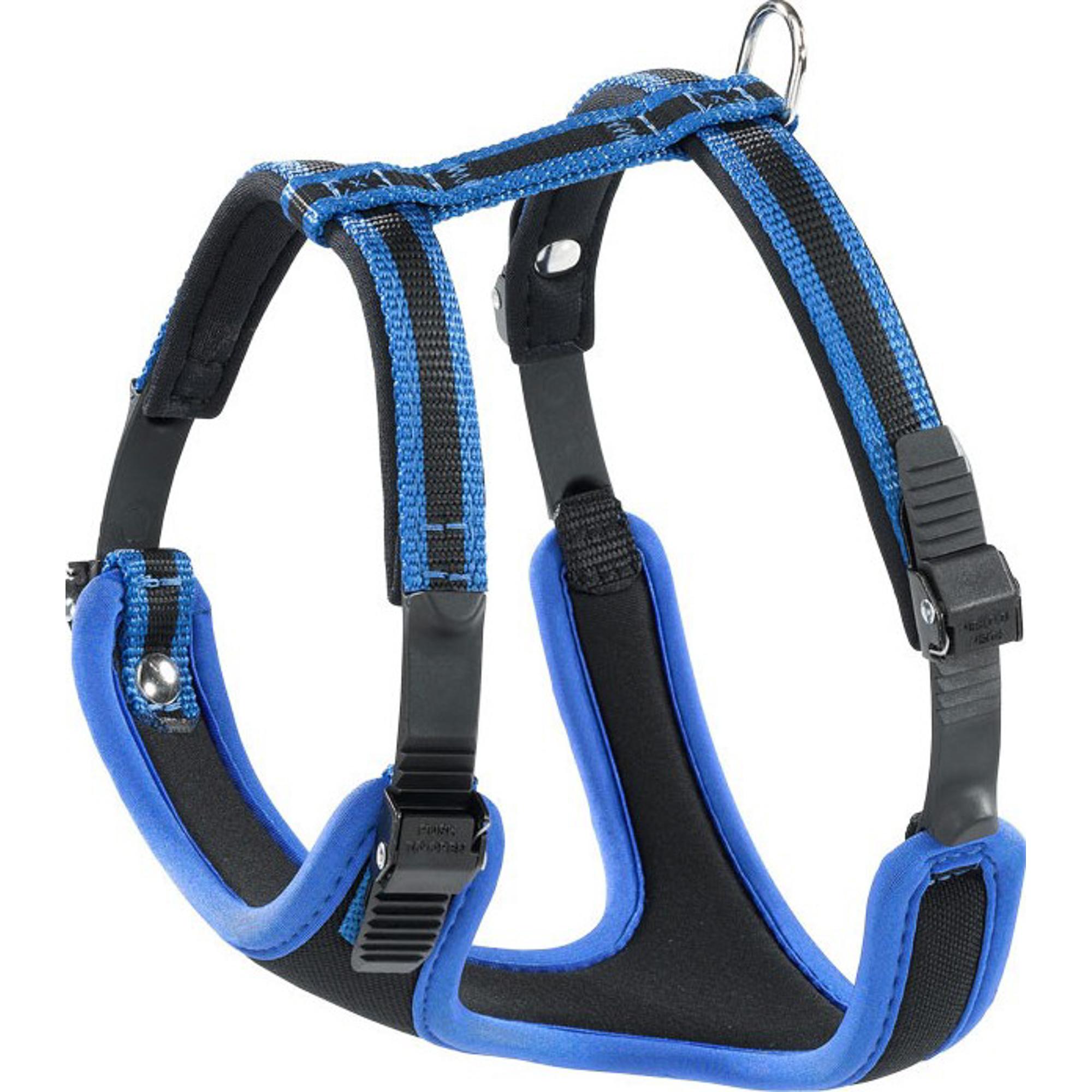 Шлейка для собак FERPLAST Ergocomfort P S синяя.