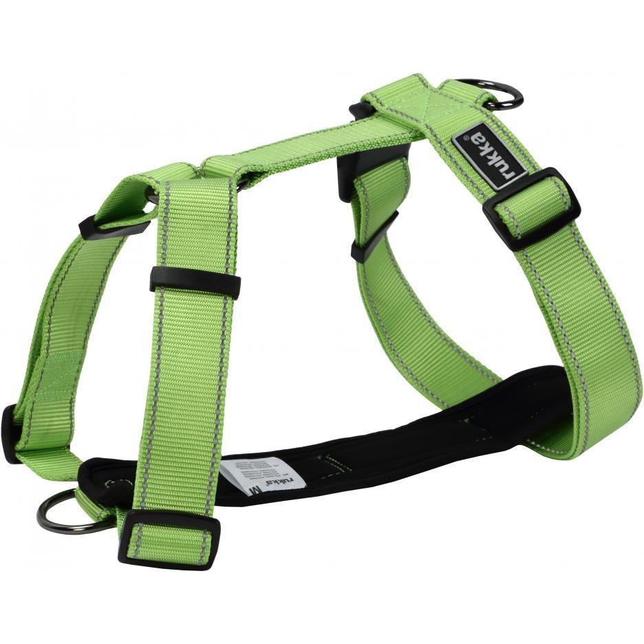 Шлейка для собак RUKKA Form 30 мм 55-85 см Зеленый фото