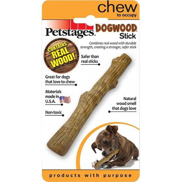 Игрушка для собак Petstages Dogwood Палочка деревянная малая.