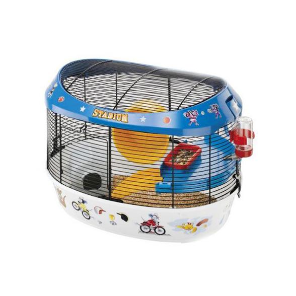 Клетка для грызунов FERPLAST Stadium для хомяков.