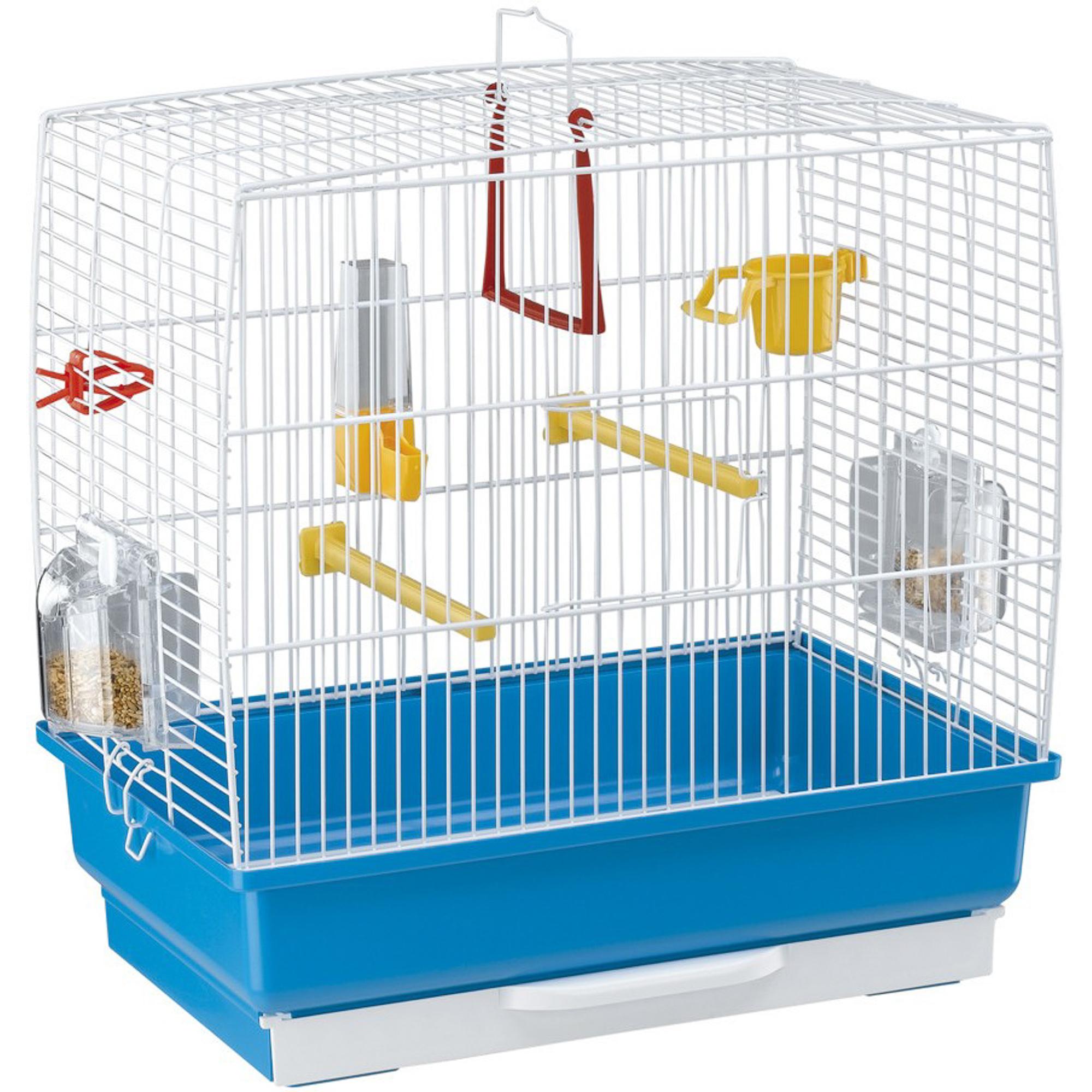 Клетка для птиц FERPLAST Rekord 2 белая.