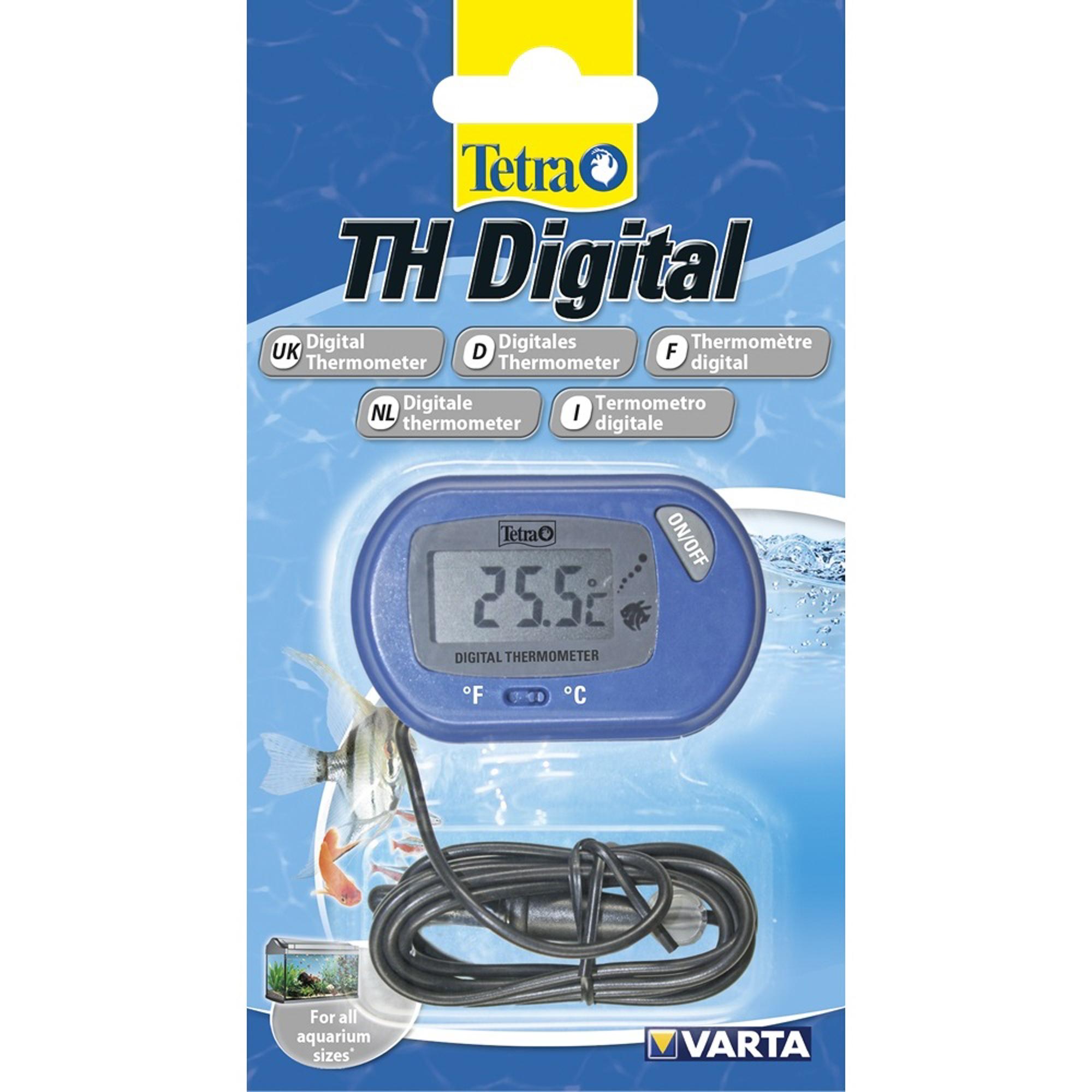Купить Термометр для аквариумов TETRA TH Digital, термометр, Китай, синий, пластик