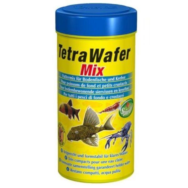 Корм для рыб TETRA Wafer Mix 250мл.