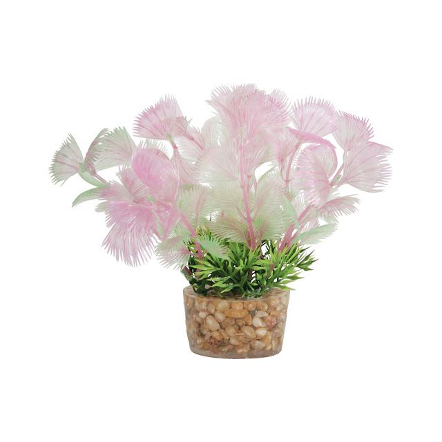 Растение для аквариумов ZOLUX пластиковое в грунте 5x5x13 см.
