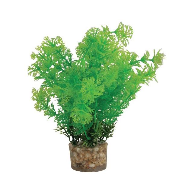 Растение для аквариумов ZOLUX пластиковое в грунте 5x5x20 см.
