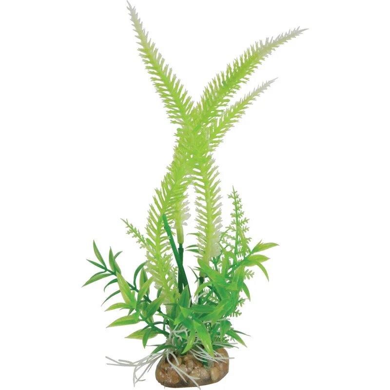 Растение для аквариумов Zolux композиция Large пластиковое 6x4x40 см 355544