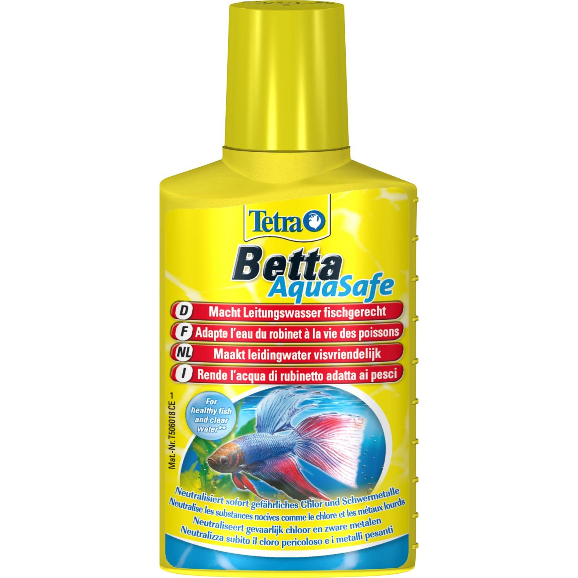 Кондиционер для воды TETRA Betta AquaSafe 100мл