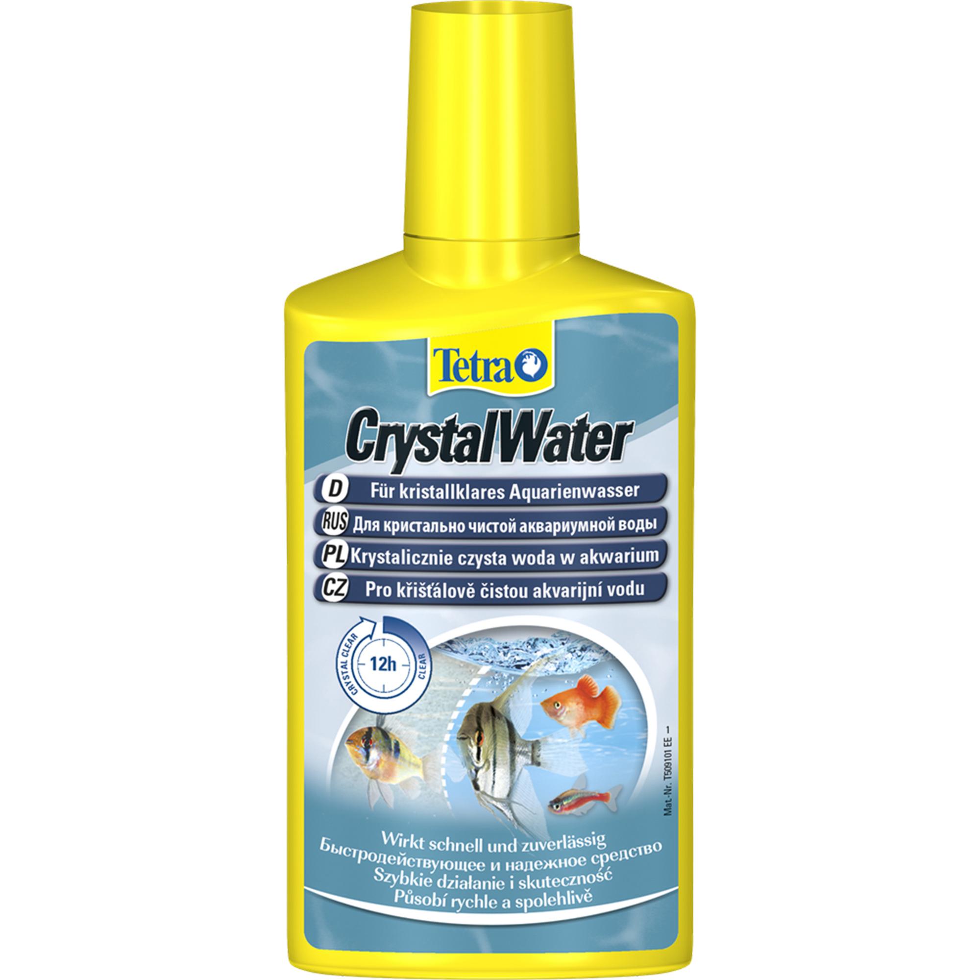Фото - Кондиционер для очистки воды TETRA Crystal Water 100мл кондиционер tetra pond crystal water для очистки воды от мути в пруду 3л