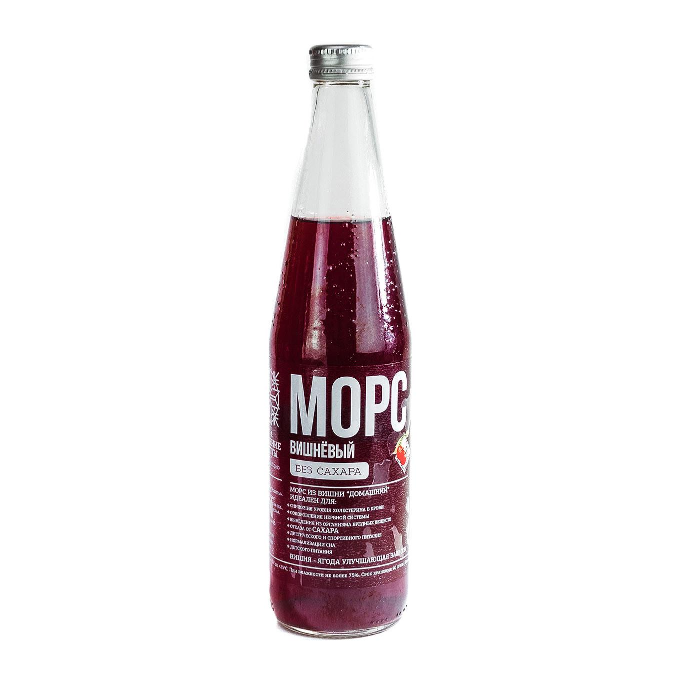 Морс Домашние рецепты Вишневый 0,5 л