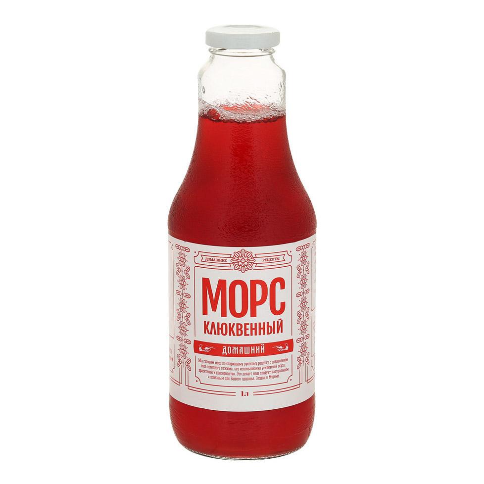 Фото - Морс Домашние рецепты клюквенный 1 л морс клюквенный чудо ягода 970 мл