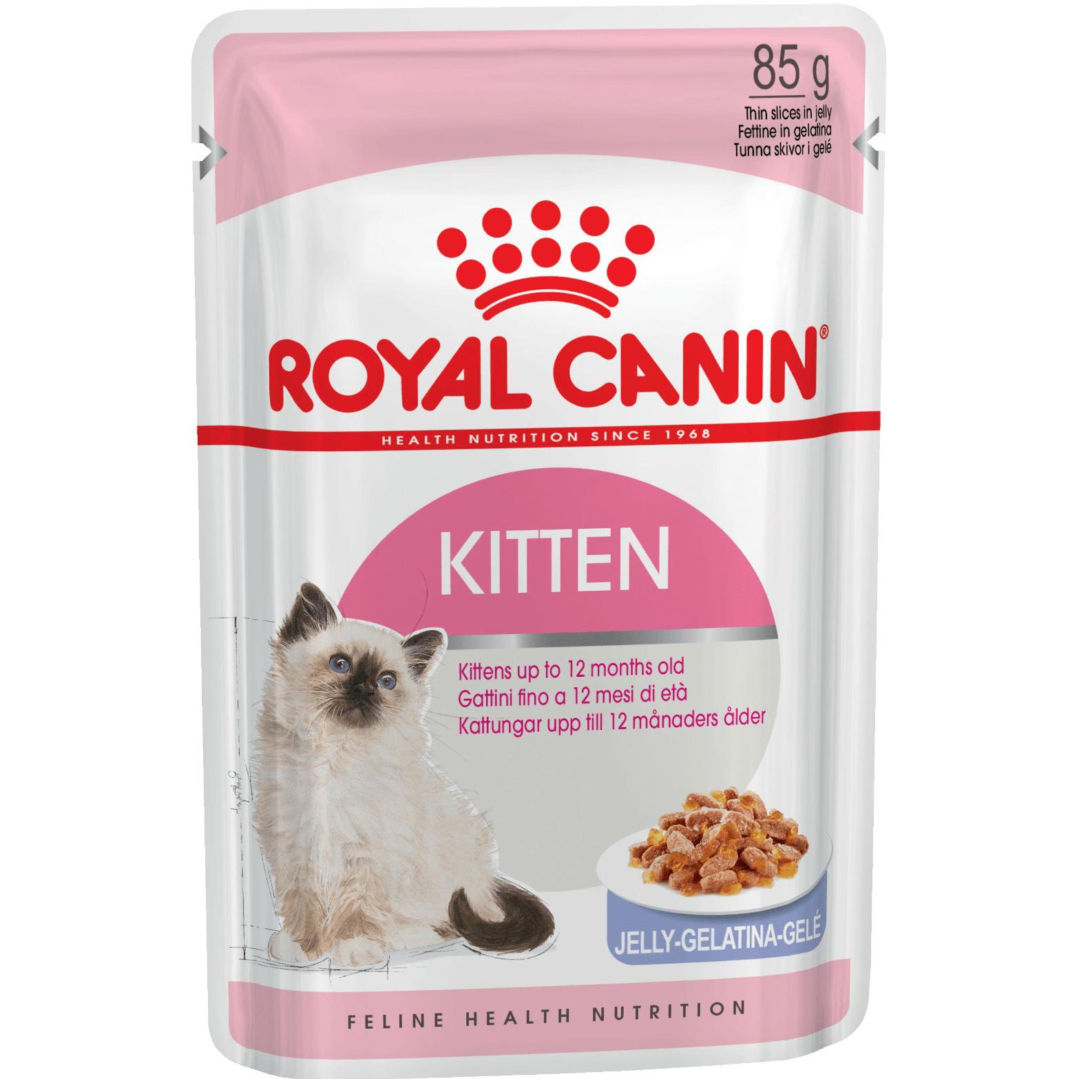 Корм для котят Royal Canin Kitten Instinctive Мясо в желе 85 г