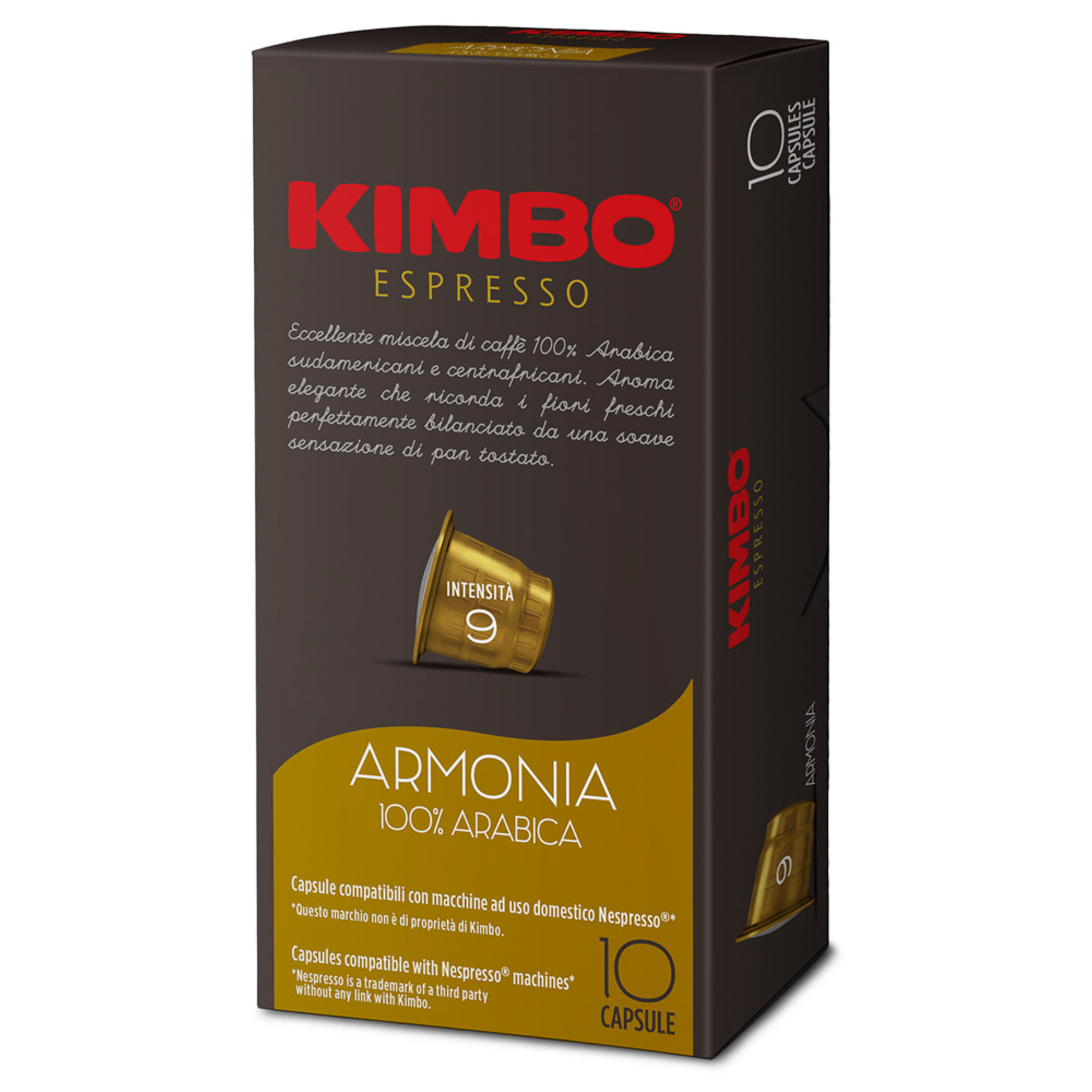 Кофе в капсулах Kimbo Armonia 10 шт