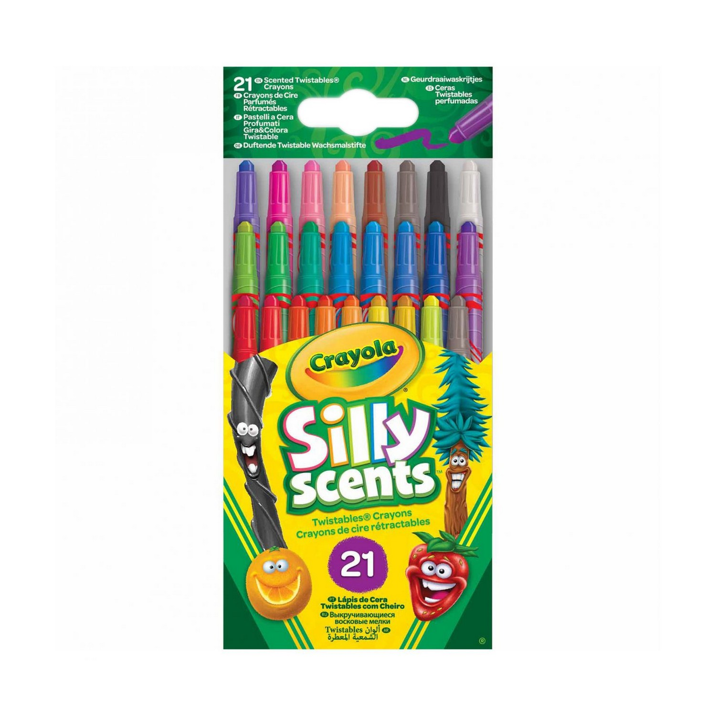 мелки Восковые мелки ароматизированные 21 шт. Crayola