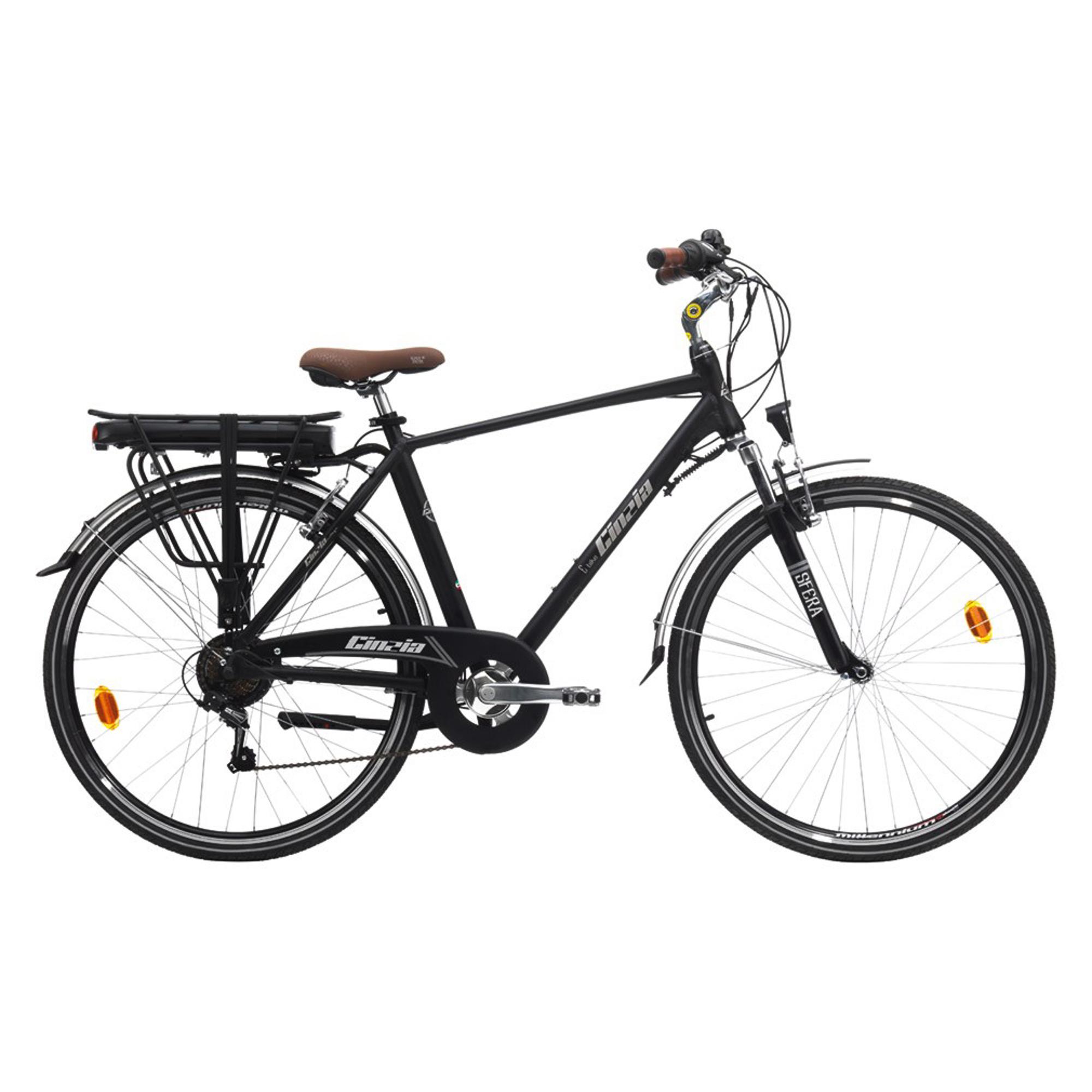 Купить Электровелосипед мужской CICLI CINZIA MAN 28 дюймов 7 скоростей, электровелосипед, Италия, алюминиевый сплав