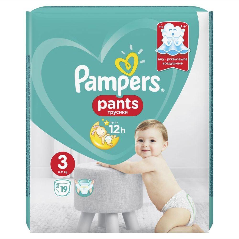 Купить Подгузники-трусики Pampers Pants Midi (6-11 кг) 19 шт, Для детей,