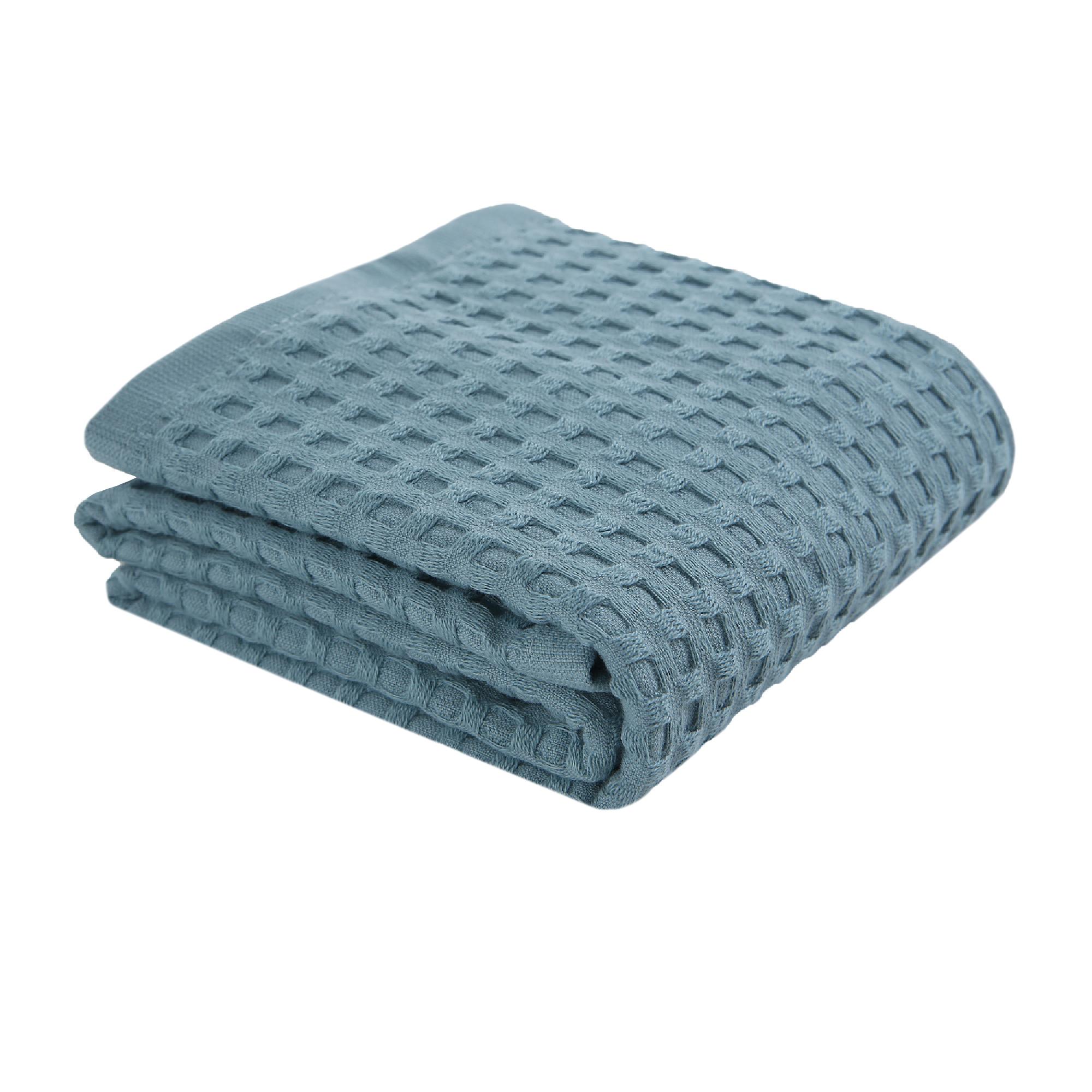 Полотенце Move Piquee 50x100 см голубой фото