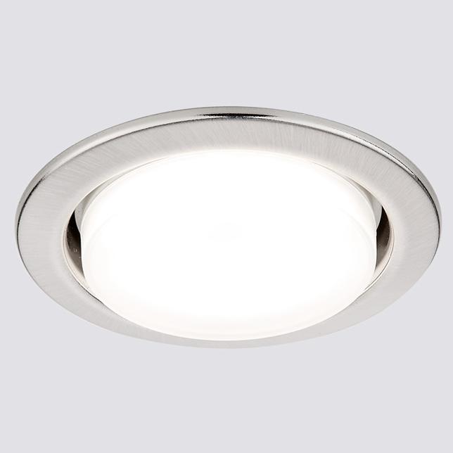 Светильник Ambrella light g101 ss сатин серебро gx53
