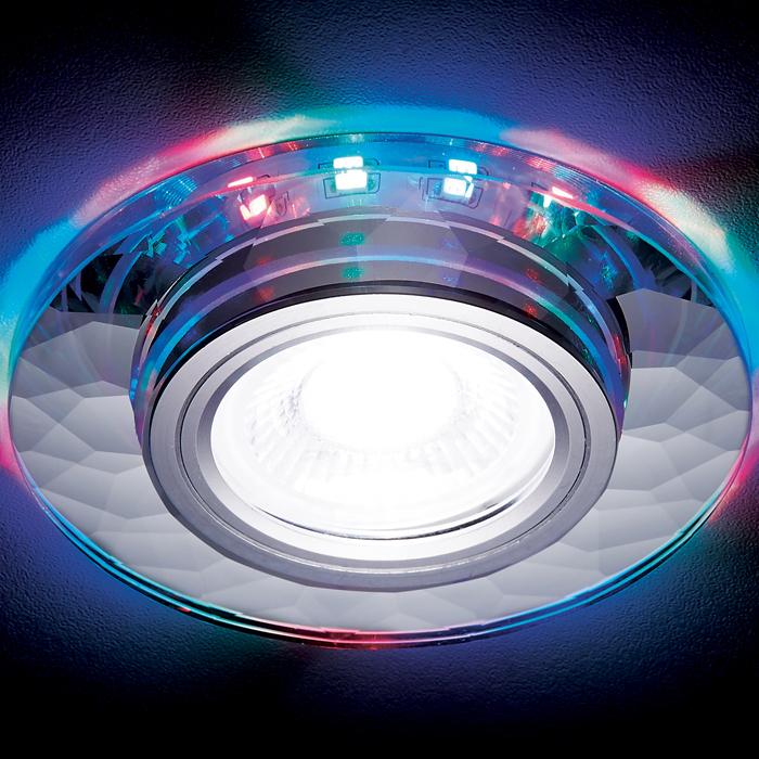 Светильник Ambrella light s211 ch/rg /mr16+3wled rgb фото