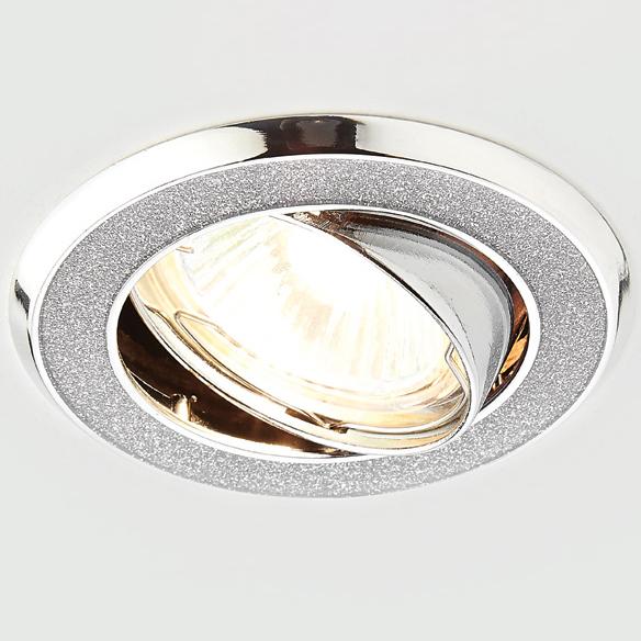 Светильник Ambrella light 611a sh/sl mr16 встраиваемый светильник ambrella light p2350 sl