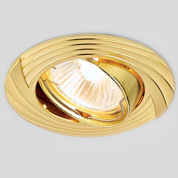 Светильник Ambrella light 722 gd золото mr16 светильник navigator под лампу mr16 золото