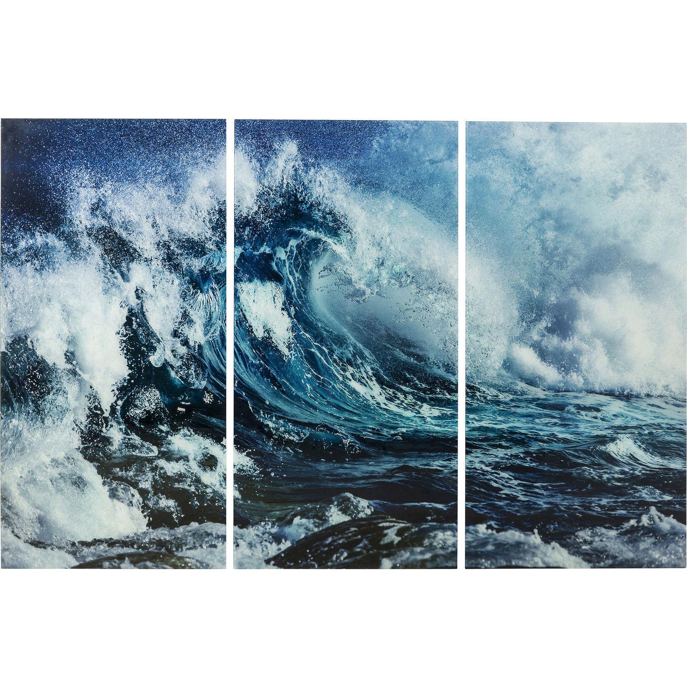 Картина волна 160х240см Kare