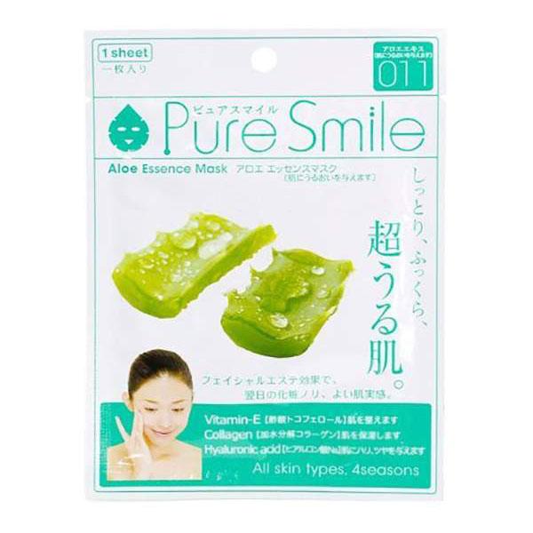 Фото - Маска для лица SunSmile Pure Smile Aloe Essence Mask, 23 мл маска для лица sunsmile pure smile essence mask green tea 23 мл