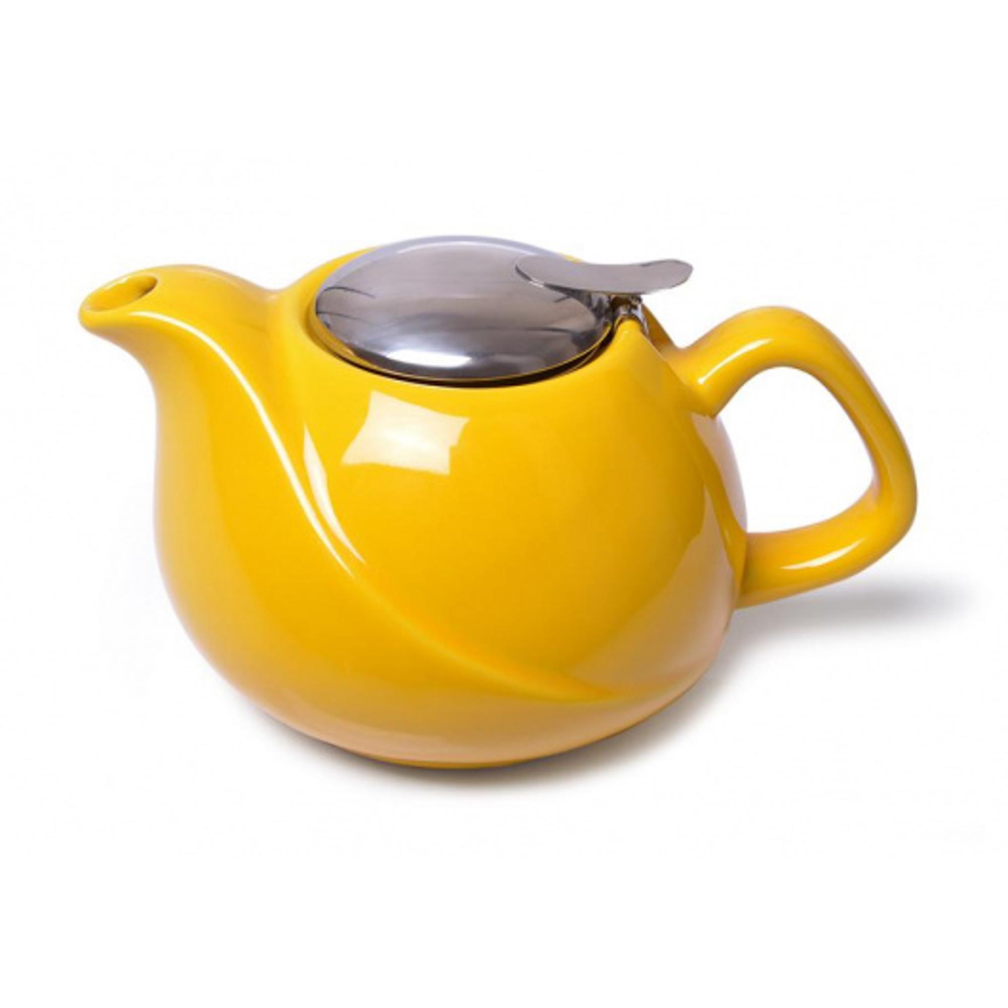 Чайник заварочный Fissman 750мл желтый