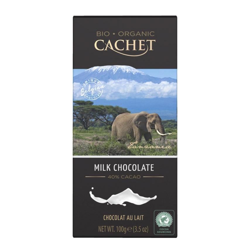 шоколад cachet organic органический горький 57% с абрикосом и лесным орехом 100 г Шоколад Cachet Organic органический молочный 40% 100 г