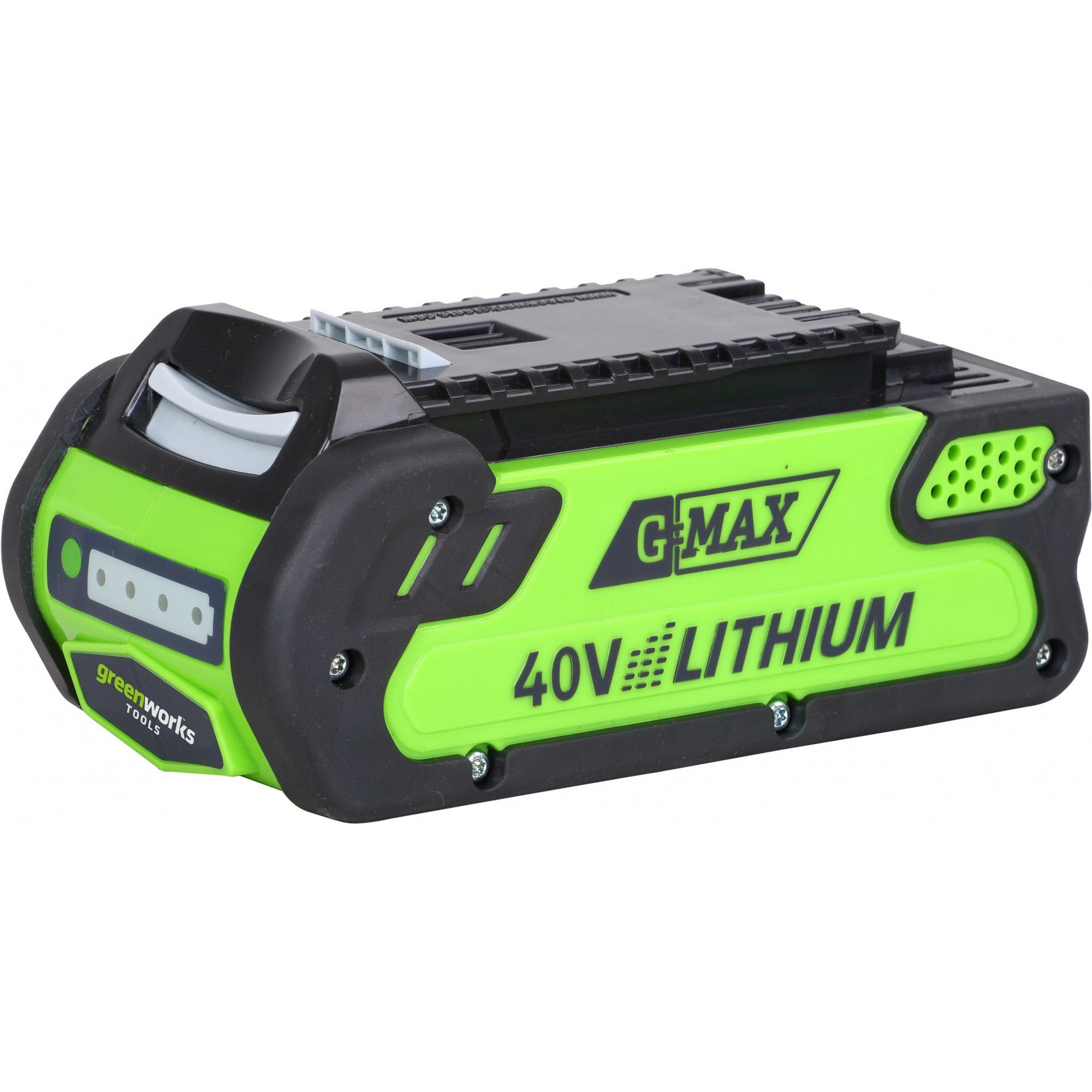 Аккумулятор GreenWorks G-MAX G40B3